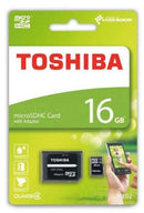 Toshiba 16 GB Memory Card For Mobile Phones - Micro SD High Capacity Cards - m102
