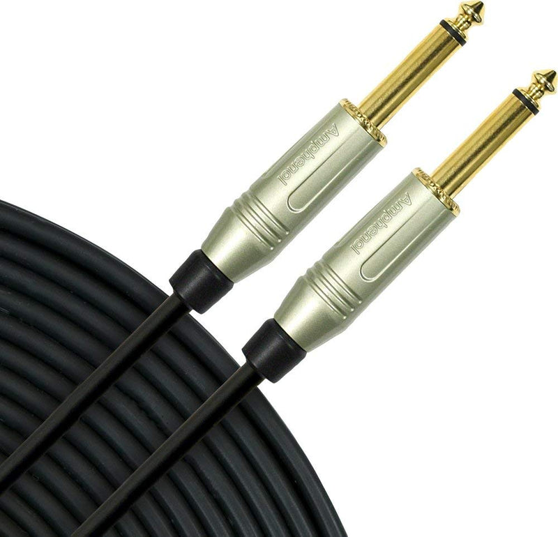 "Mogami Silver Series 1/4"" Straight Instrument Cable 25 ft"