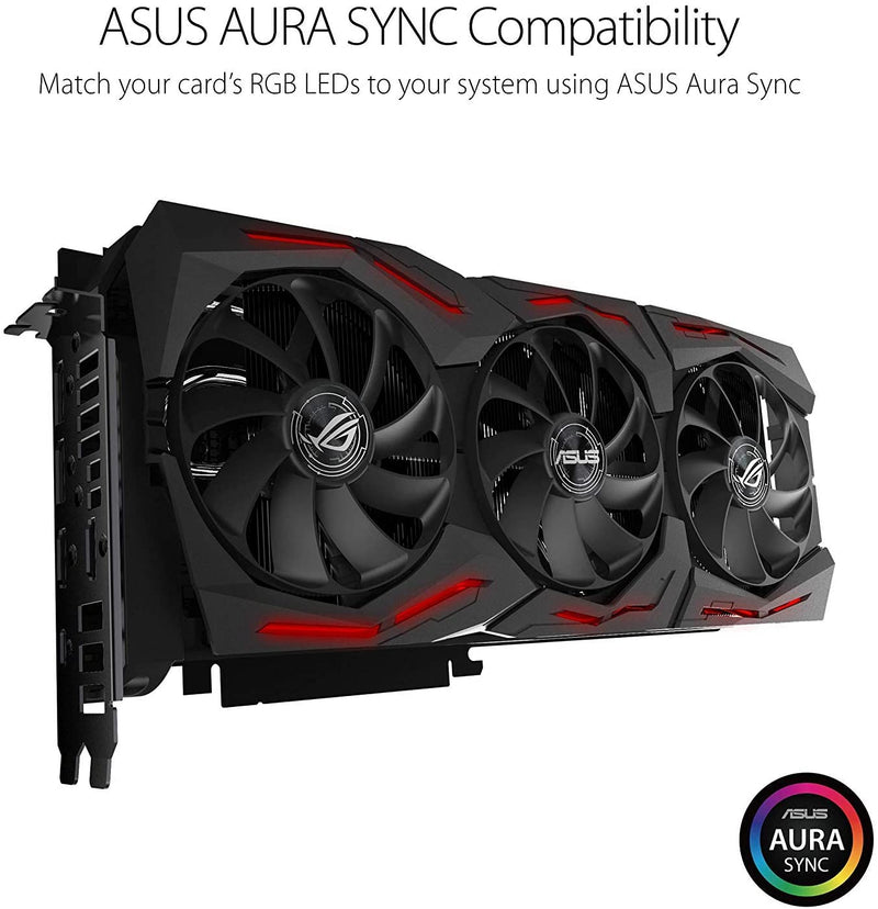 ASUS GeForce RTX 2080 O8G ROG STRIX OC Edition