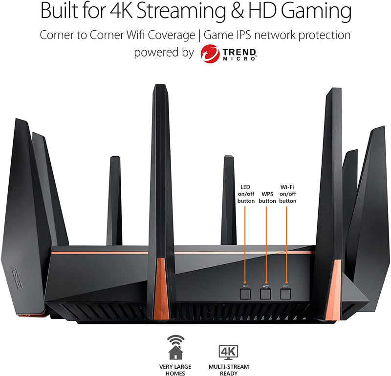 ASUS Gaming Router Tri-band WiFi
