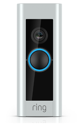 Ring 8VR4P6-0EU0 Pro kit (Chime+ Transformer) Video Doorbell Pro, With Camera, Wi-Fi, Plus Smart Chime