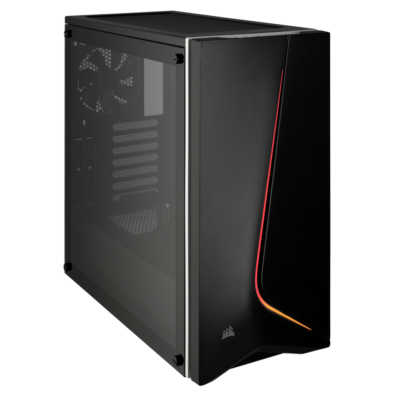 Carbide SPEC-06 RGB Tempered Glass Case — Black