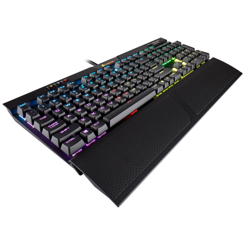 K70 RGB MK.2 RAPIDFIRE Mechanical Gaming Keyboard — CHERRY® MX Speed
