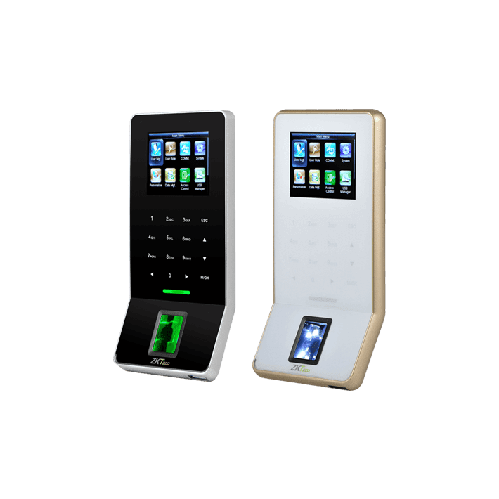 ZKteco F22 Ultra thin fingerprint time attendance and access control terminal