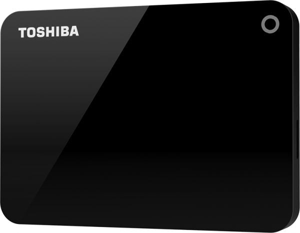 TOSHIBA - Toshiba 1TB Canvio Advance Portable USB3.0 Hard Drive Black -HDTC910EK3AA -  - Tashria