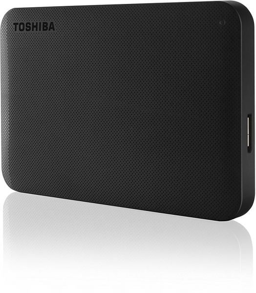 Toshiba 1TB Canvio Ready Portable USB3.0 Hard Drive Black -HDTP210EK3AA