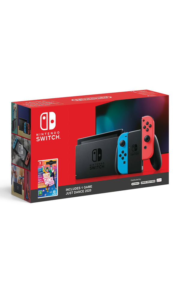 "Nintendo HAD-S-KABAA portable game console Black,Blue,Red 15.8 cm (6.2"") Touchscreen 32 GB Wi-Fi"