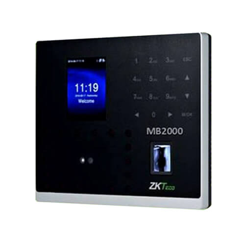 Zkteco MB2000 Multi-biometric Identification Time & Attendance and Access Control Terminal