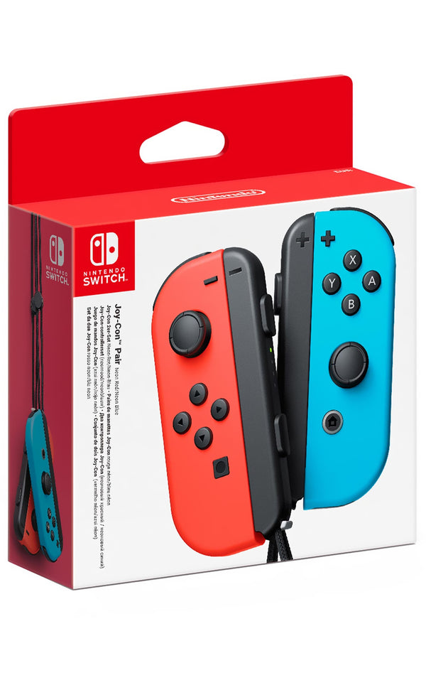 Nintendo Switch Joycon Controller (Red/Blue) - NS HAC-A-JAEAA-USZ