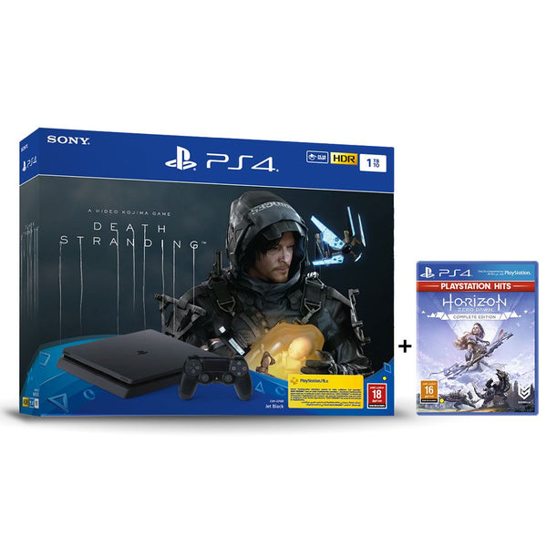 PlayStation 4 1TB with Death Stranding and Horizon Zero Dawn