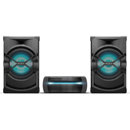 SONY High Power Home Audio System - DVD - 3 Boxes - 1200W - Black - SHAKE-X30D