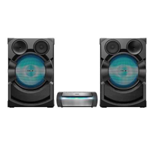 SONY SHAKE-X70D High Power Home Audio System - DVD - 3 Boxes -2400W - Black - SHAKE-X70D