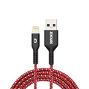 Tashria - Zendure 100 cm Ultra-Durable Kevlar Braided USB to Lightning -Red -  - Tashria