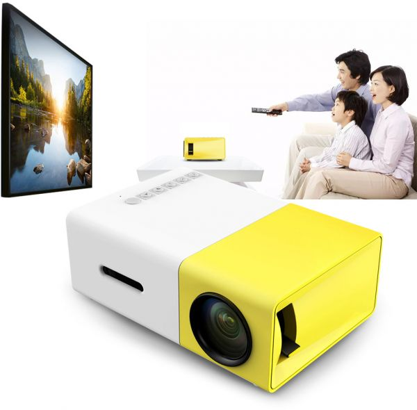 YG - 300 LCD Projector 320 x 240 Home Media Player AU Plug