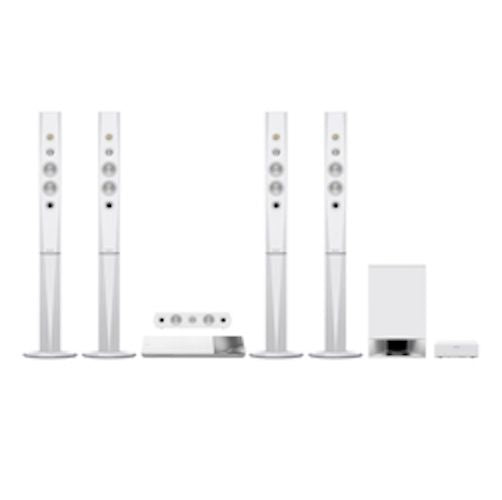Sony - SONY Blu-ray Home Cinema System 5.1ch - Bluetooth - 1200W - White - BDV-N9200WL -  - Tashria
