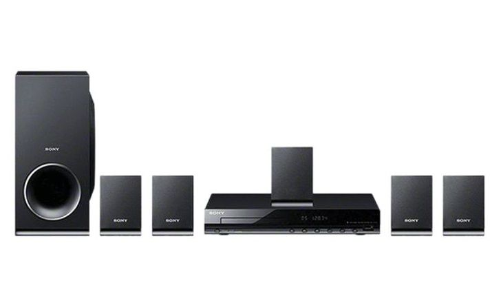 Sony - SONY DVD Home Cinema System - Black - DAV-TZ140 -  - Tashria