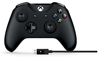Microsoft 4N6-00002 Xbox One and PC Controller with Cable - Ergonomic Design