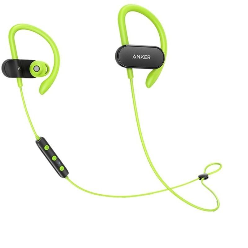 Anker SoundBuds Curve B2B, Black Green