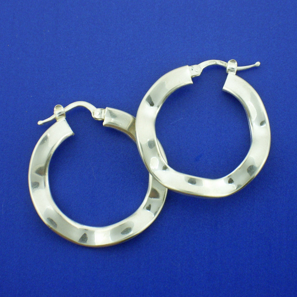 FANCY EURODESIGN HOOPS EARRINGS