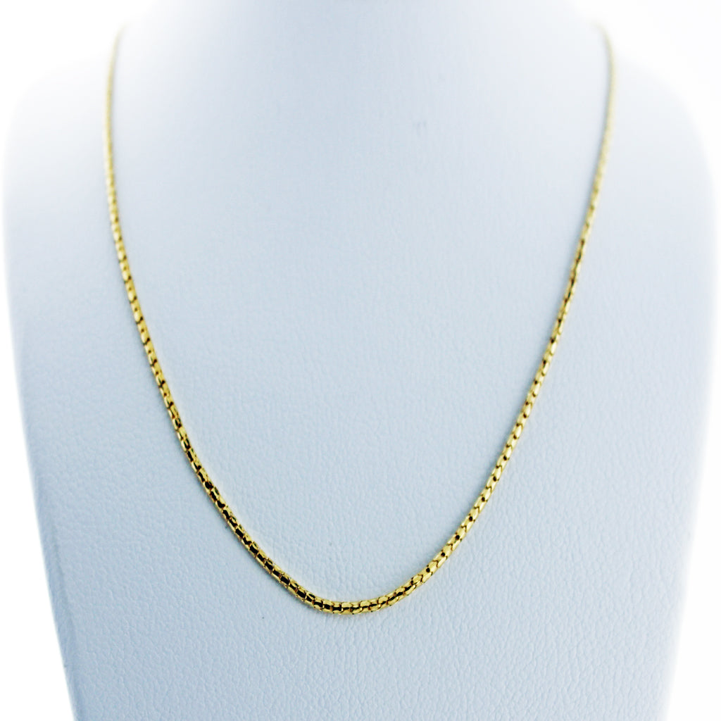 FANCY 14K YG CHAIN