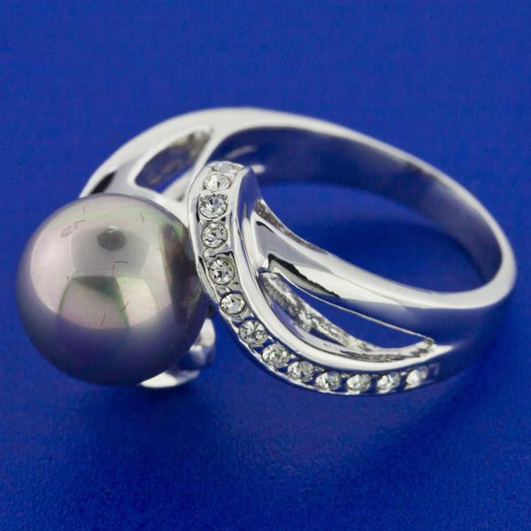 MAGNIFICENT SILVER PEARL RING