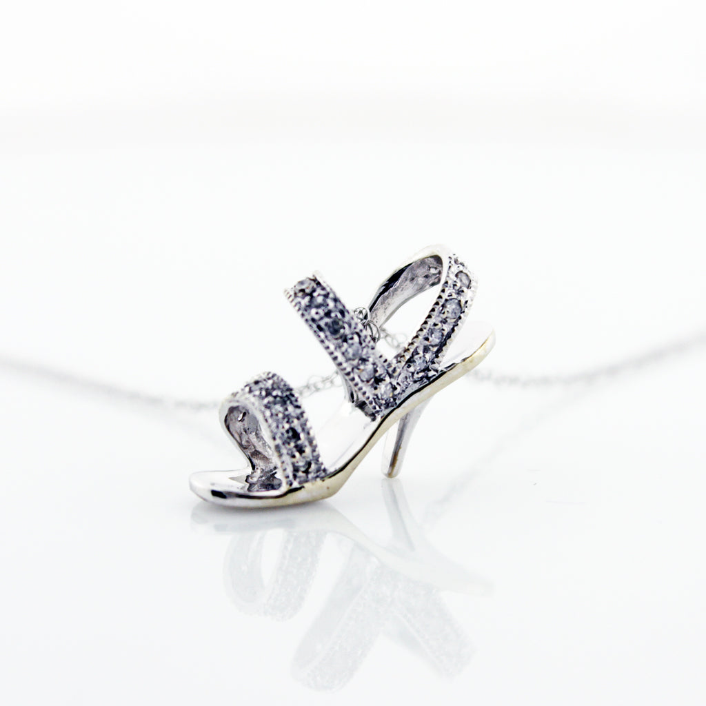 DECO SHOE DIAMOND PENDANT CHAIN
