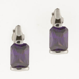 FINE AMETHYST EARRINGS