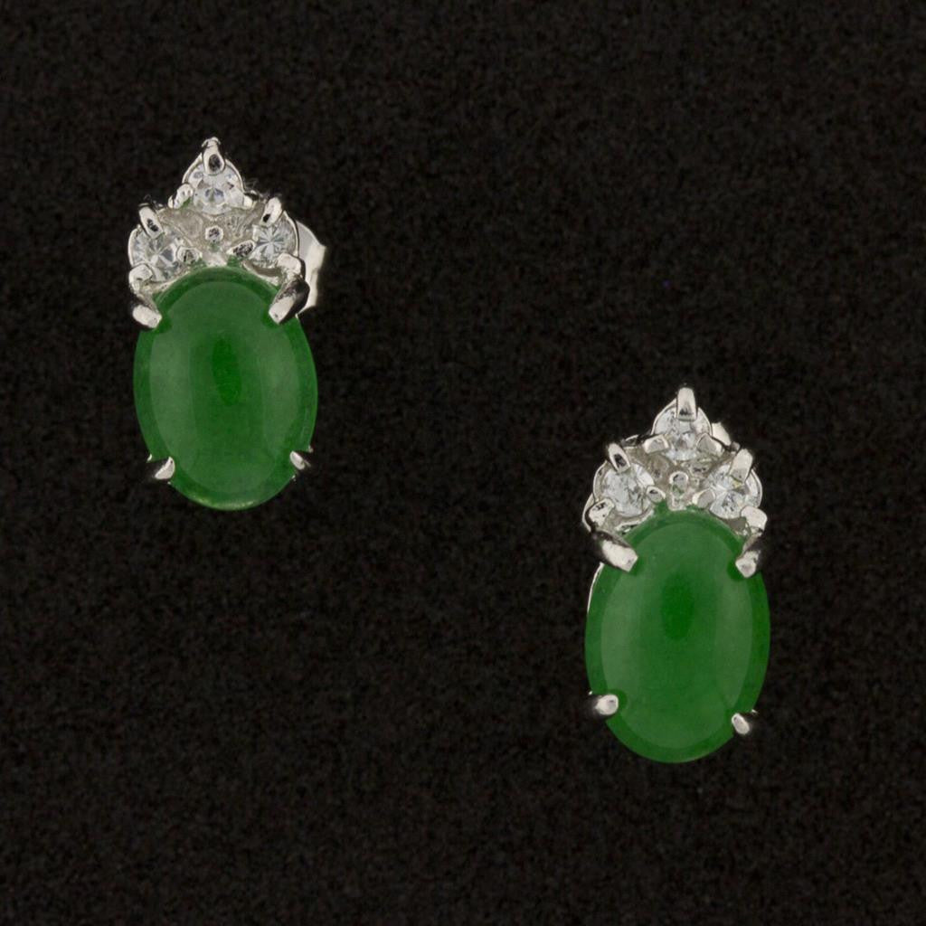 ELEGANT JADE EARRINGS