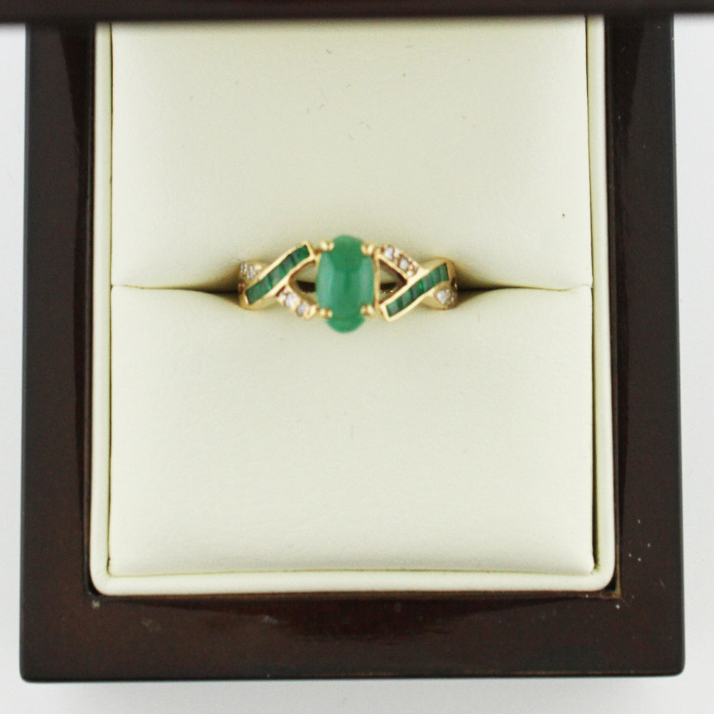 COLUMBIAN GREEN EMERALD