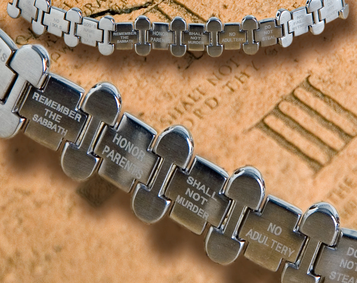 *Ten Commandments Bracelet