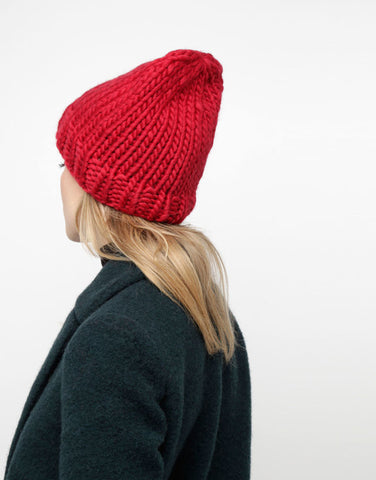Wool And The Gang Beanie Winter Getaway Tamarind Fashion