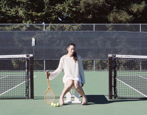 Sweater Season Cashmere On The Courts