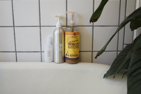 Skincare Routine Hair Products