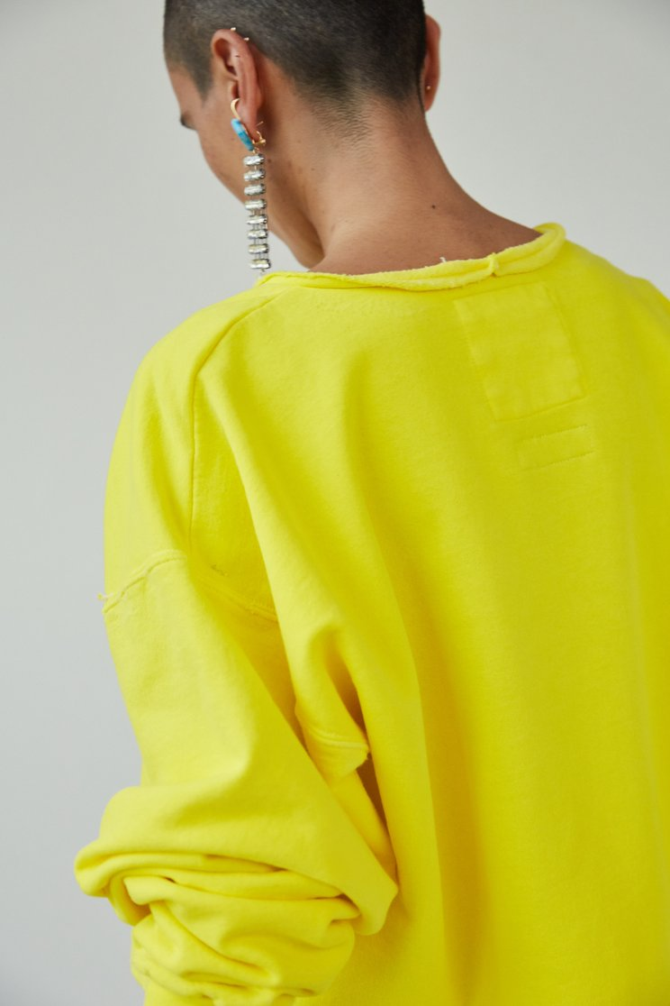 Rachel Comey Mingle Sweatshirt in Citron