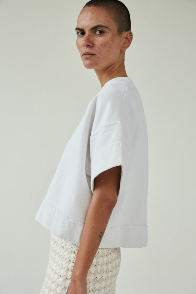 Rachel Comey Tender Sweatshirt in Dirty White
