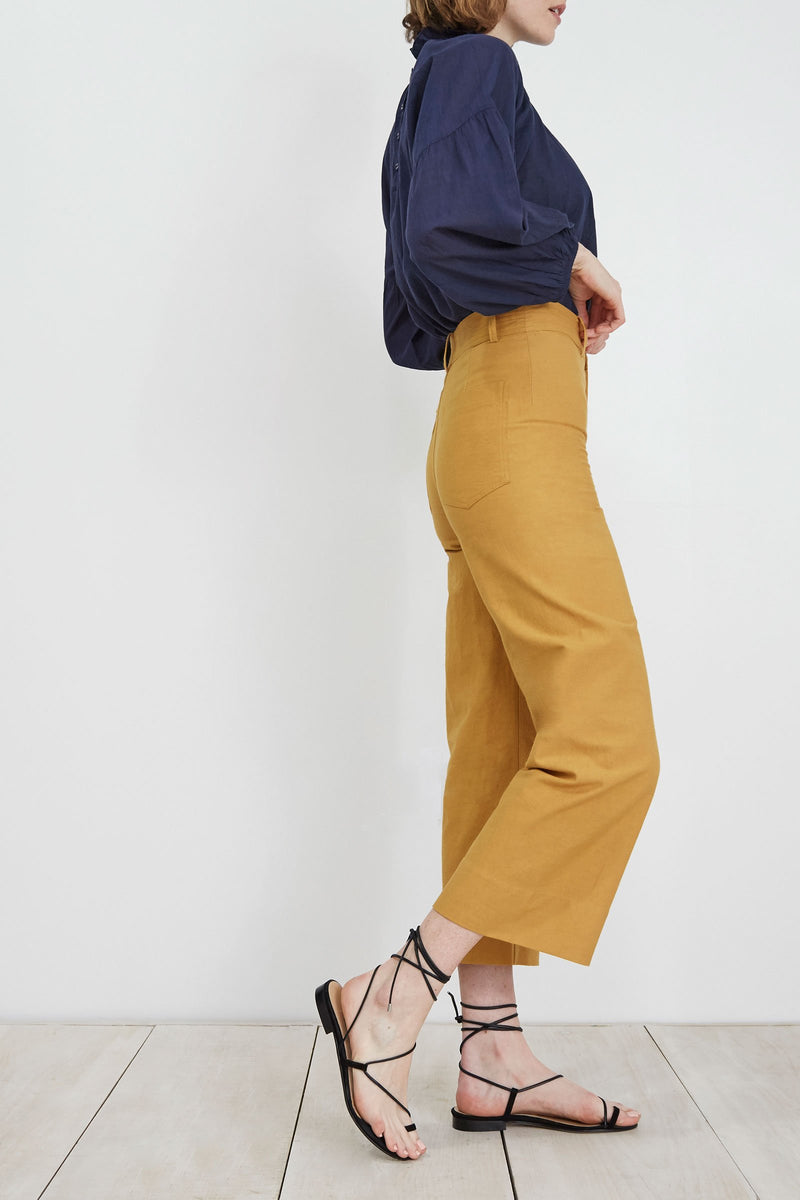 Apiece Apart Wide Leg Merida Pant in Sun