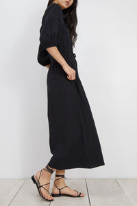 Apiece Apart Camelia Jumpsuit in Black
