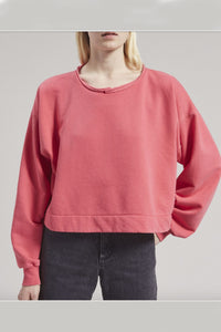 Rachel Comey Mingle Sweatshirt in Coral