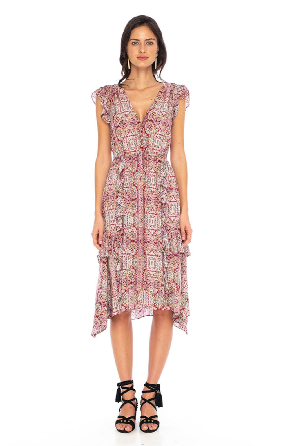 Caballero Kendall Dress In Kaleidoscope