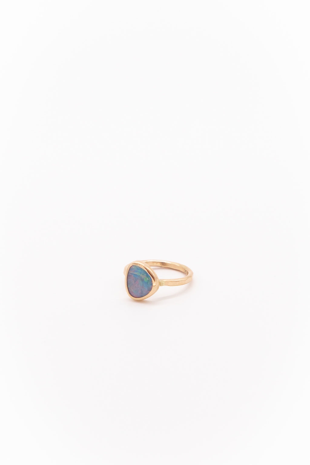 Melissa Joy Manning 14K Yellow Gold Limited Edition Opal Ring