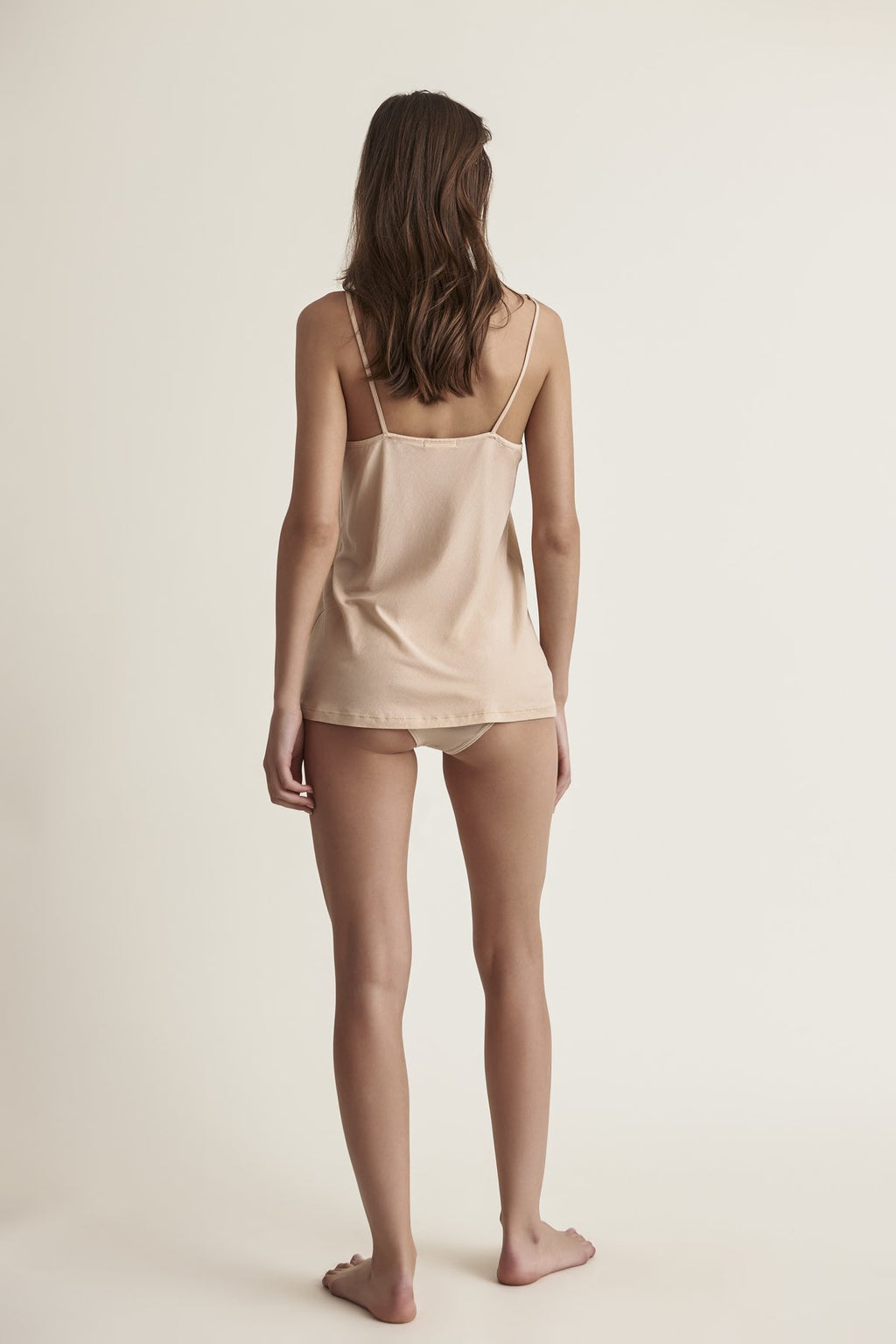 Skin Sexy Pima Cotton Cami in Nude