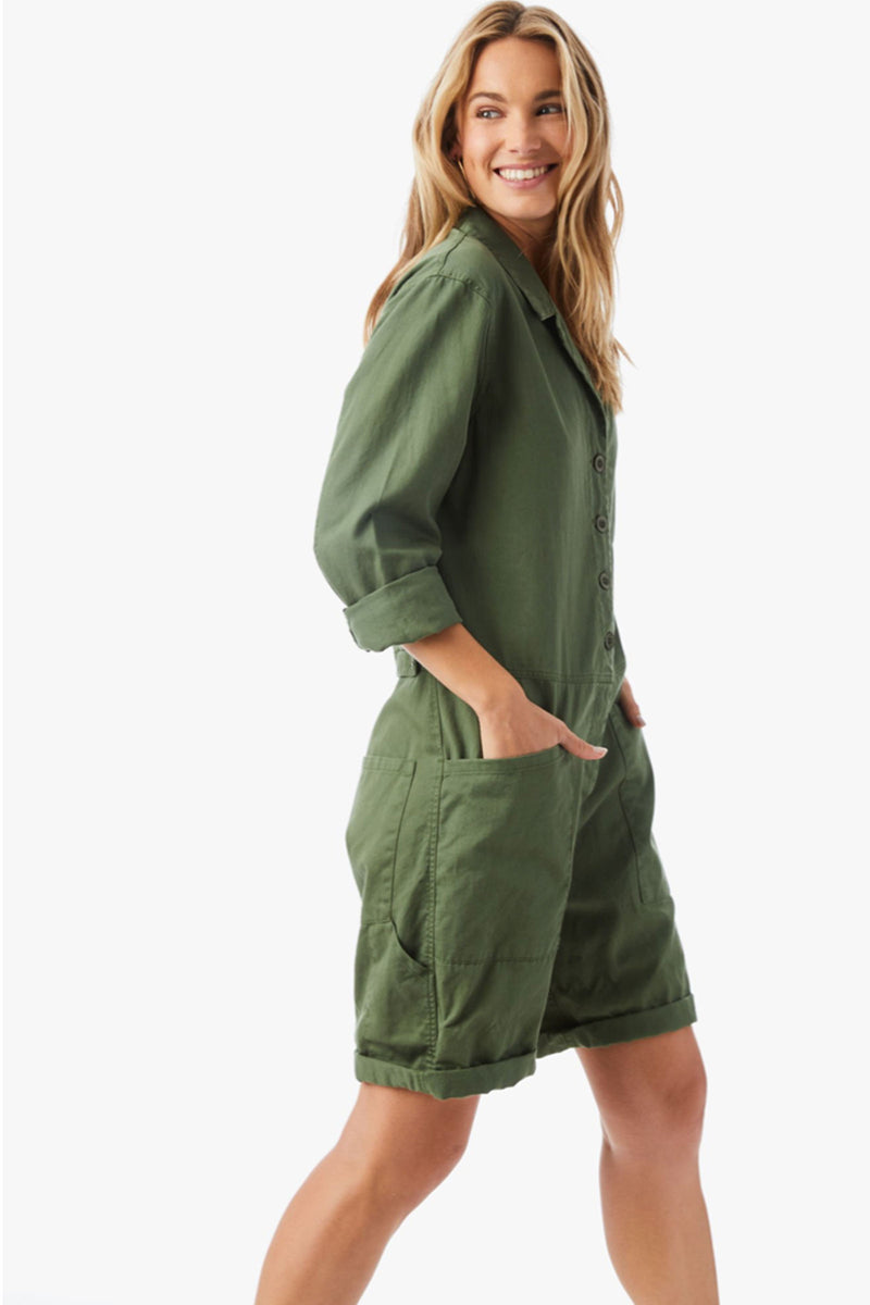 Xirena Hartley Romper in Surplus
