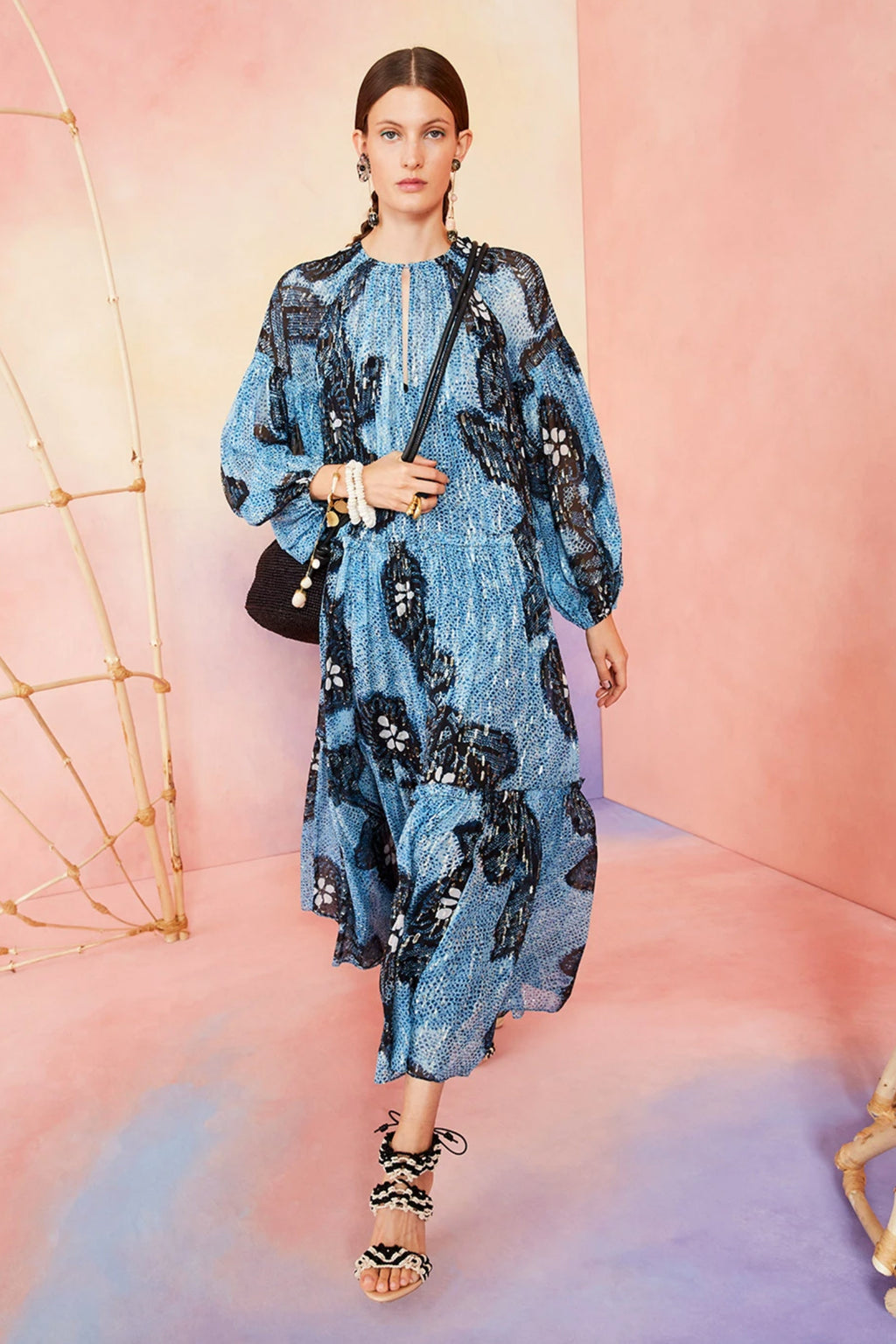 Ulla Johnson Indra Dress in Sky