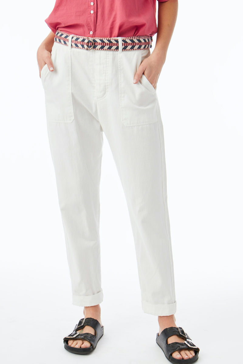 Xirena Tucker Pant In White Wash