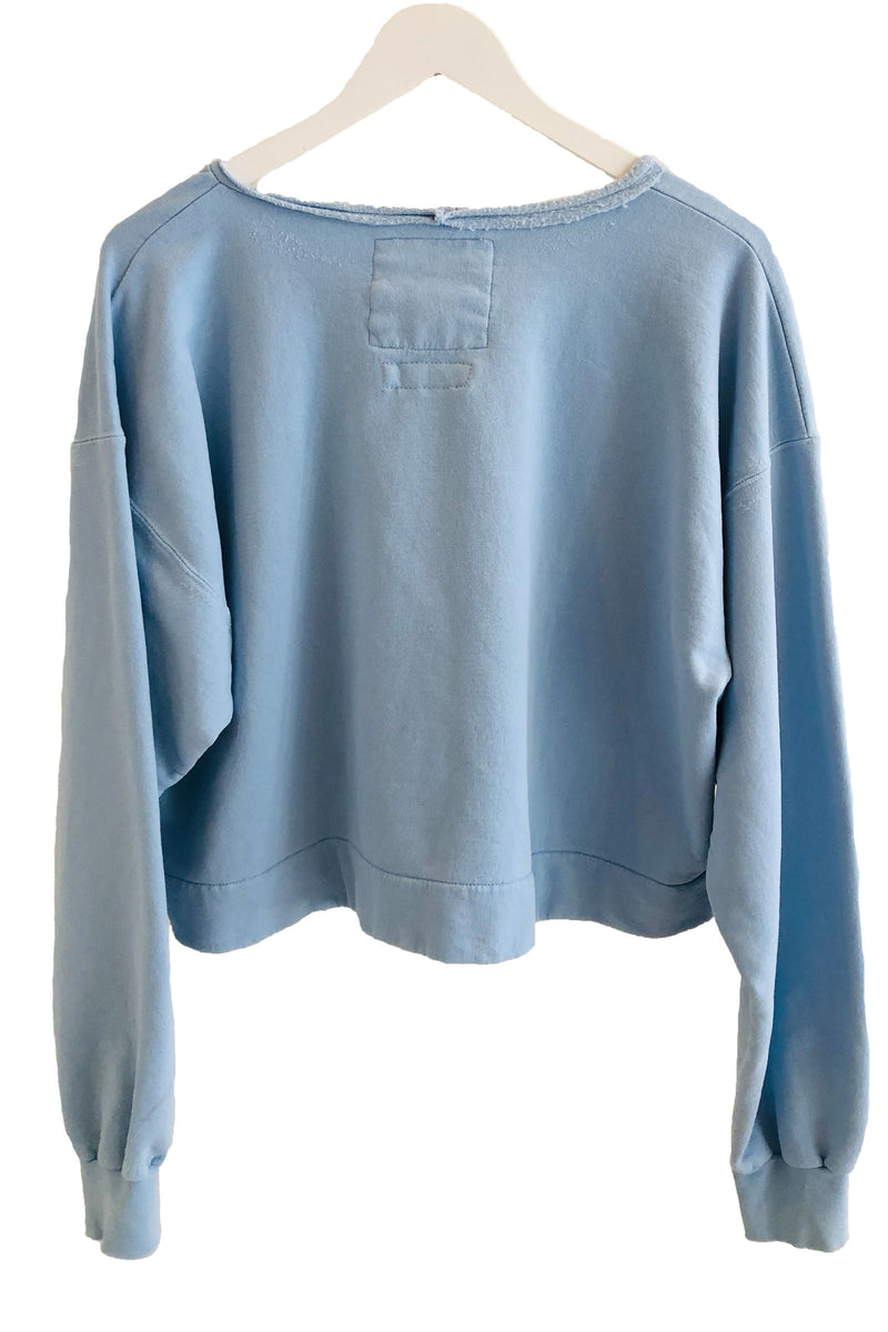 Rachel Comey Mingle Sweatshirt in Sky Blue