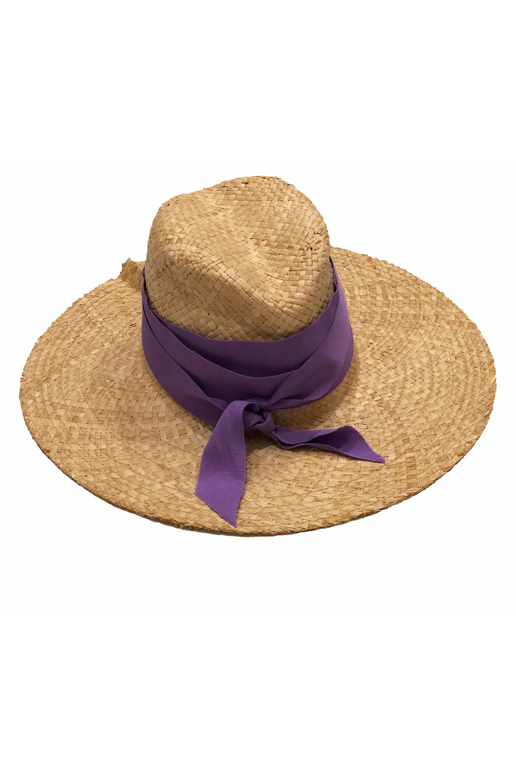 Lola Ehlrich First Aid Bis Hat in Natural /Lavender