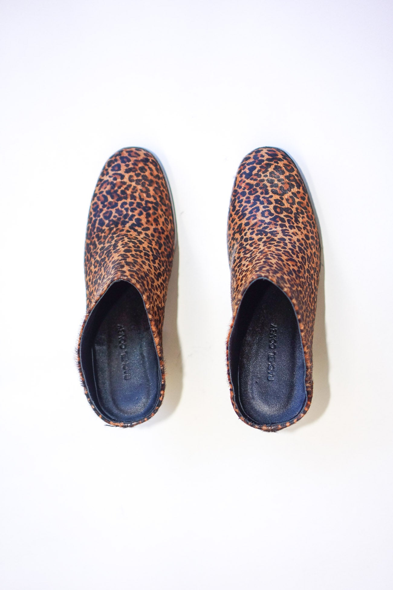 Rachel Comey Mars Mule Shoes in Leopard Print