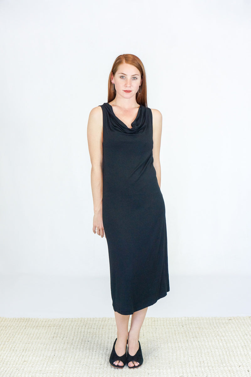 Skin Liandra Dress in Black