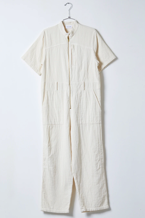 Atelier Delphine Ailuk Jumpsuit in Cream