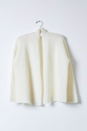 Atlelier Delphine Mina Cardi Loose Knit in Cream